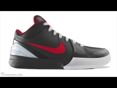 new arrivals 5965a e6eeb Nike Zoom IV Kobe Bryant Basketball Shoes