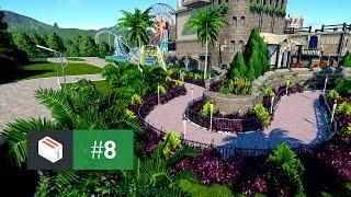 Let's Design Planet Coaster — EP 8 — Flower Garden