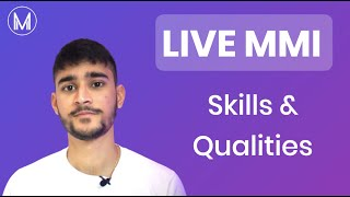 Medicine Live MMI: Communication Station – Personality \u0026 Skills \u0026 Qualities