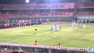 Video Gol Pertandingan Catania vs Cesena