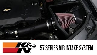 in the garage with parts pro k 57 series air intake system