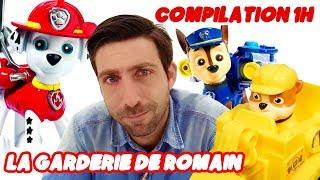 Compilation 1H Garderie de Romain. Vidéos éducatives avec les jouets pour les enfants streaming