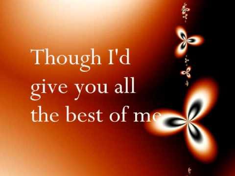 Best of me - Chrisette Michele (Lyrics)