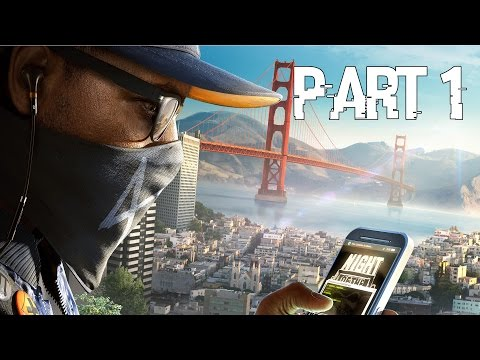 Watch Dogs 2 Gameplay Walkthrough Part 1   Intro and Cyber Driver! PS4