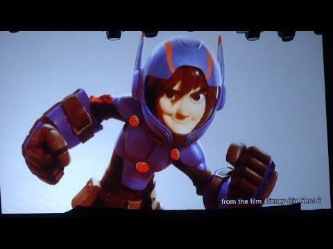 Kingdom Hearts 3 / Big Hero 6 announcement at D23 Expo 2015