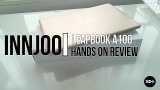 innjoo leapbook a100 hands on review
