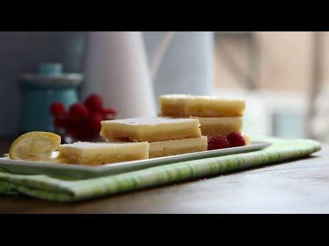 How to Make Cheesecake Lemon Bars | Dessert Recipes | Allrecipes.com