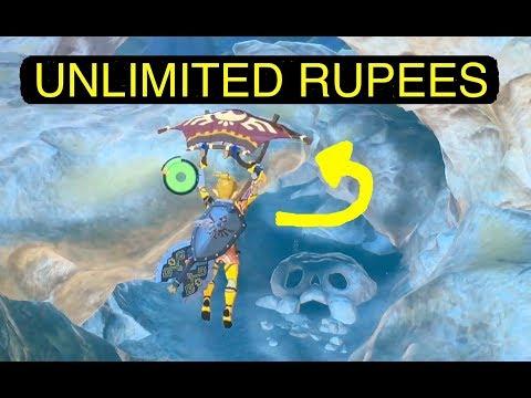 Zelda BoTW: Unlimited Rupees Trick (Fast Farming)