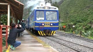 At theTrain Station in Ollantaytambo, Peru'