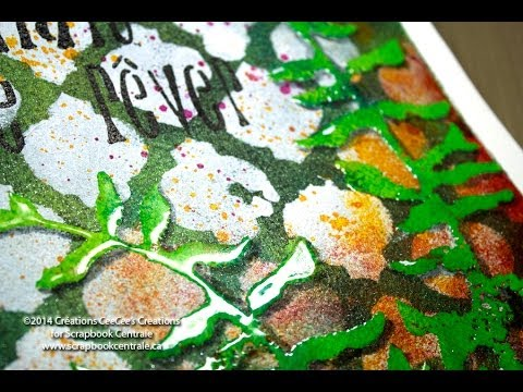 Technique Résiste à La Peinture Acrylique Et U.T.E.E. + Acrylic Paint Resist