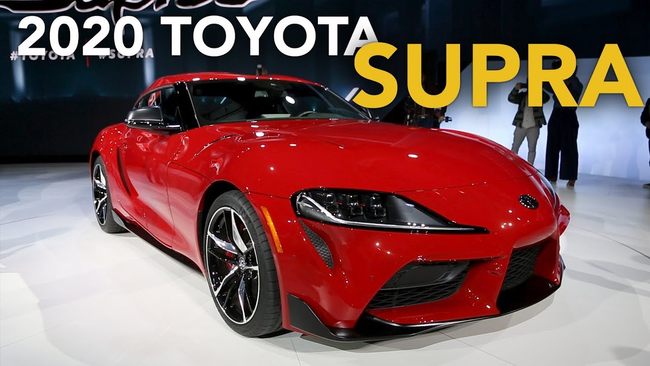 2020 Toyota Supra First Look - Does It Live Up to the Hype? - 2019 Detroit Auto Show