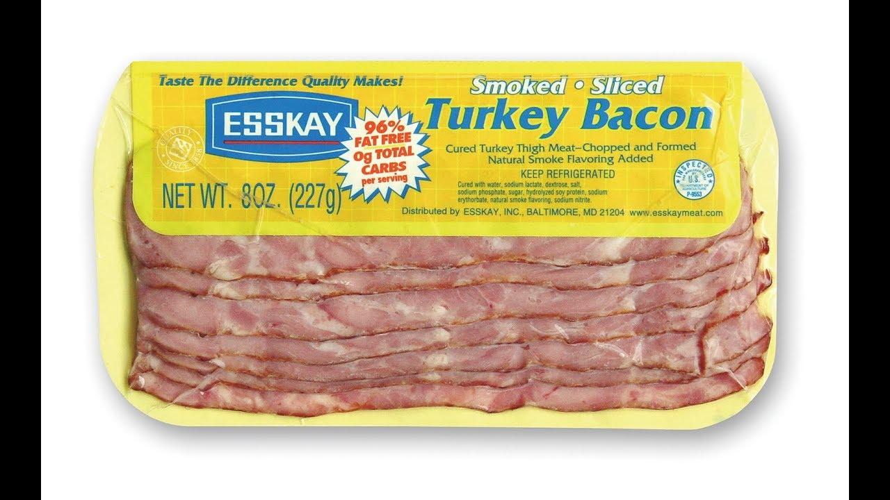 turkey bacon vs pork bacon youtube