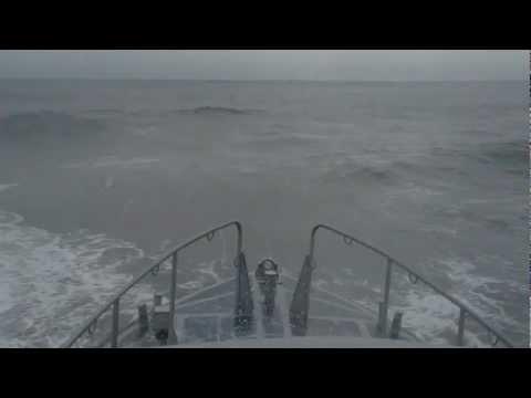 16-foot ocean swells