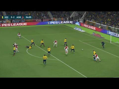 [HD] FC Sochaux vs Monaco | Coupe de Ligue 1/4 Finale | 10 Janvier 2017 | PES 2017