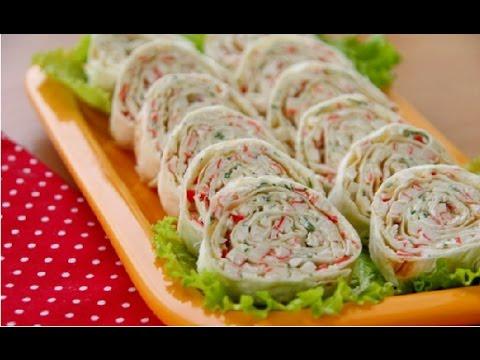 Армянский ЛАВАШ С НАЧИНКОЙ(рыбная консерва) – легкий рецепт!