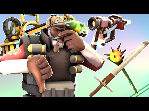 [TF2] Top 10 Bad Weapons For MvM [This Video Was An Experiment]