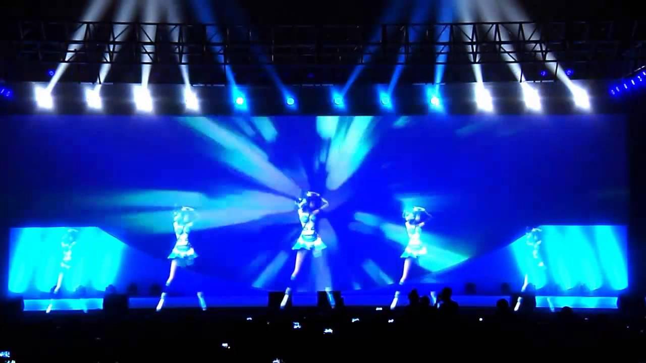 【luotianyi】hologram Stage At New Changan Benni Launch