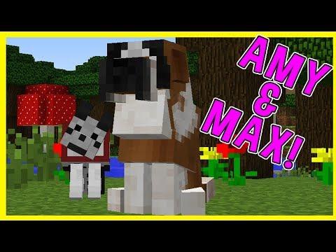 Amy & Max! Ep12 CUJO!  Minecraft  Amy Lee33