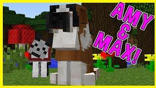 Video Amy & Max! Ep.12 CUJO! | Minecraft | Amy Lee33 download MP3, 3GP, MP4, WEBM, AVI, FLV September 2017