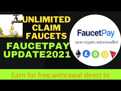 UNLIMITED CLAIM FAUCETS Live Withrawal  (Legit And Free Faucetpay Update 2021)Debs Tutorials