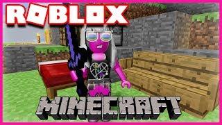 MINECRAFT DANS ROBLOX..? | Roblox Mineverse