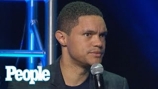 The Daily Show: Trevor Noah Reveals 1st Question He'd Ask President Trump | People NOW | People