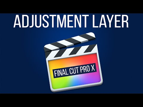 Adjustment Layer Final Cut Pro X