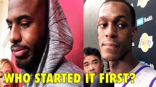 Chris Paul & Rajon Rondo TALK ABOUT THEIR FIGHT!