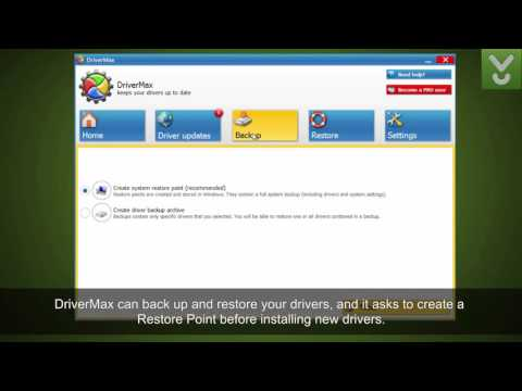 DriverMax - Update And Back Up Your Drivers - Download Video Previews