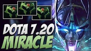 Liquid.Miracle Phantom Assassin - 20 MINS GG   Dota 7.20 Gameplay