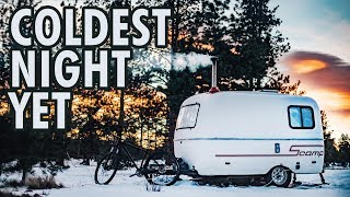 winter-camping-coldest-night-yet-13ft-scamp-trailer
