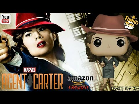 Marvel Agent Carter: Sepia Style Agent Carter Funko Pop! Review! Amazon com Exclusive!