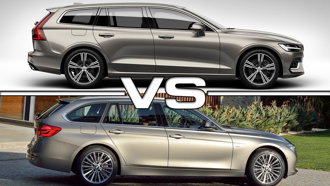 2019 Volvo V60 Vs 2018 Bmw 3 Series Touring