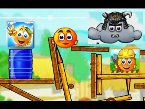 Развивающий мультик. Спасение апельсина, мультик игра для детей. Cover Orange Players pack. серия 8