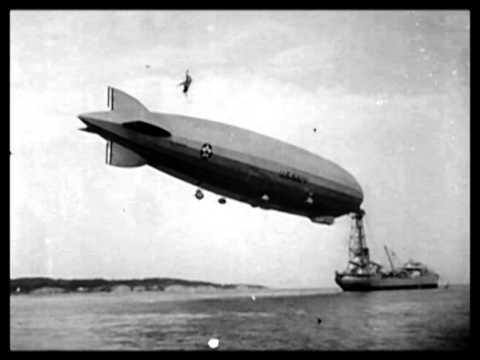 U.S. Navy dirigible the Shenandoah Crashes