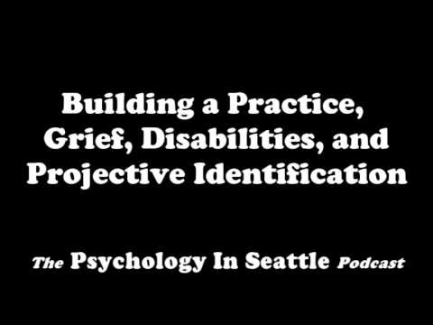 Building a Practice, Grief, Disabilities, and Projective Identification