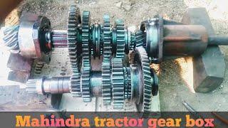 Mahindra Tractors Gear Box....
