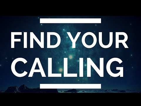 (Find Your Calling)... in the LAST place you'd think to look