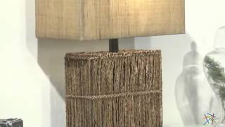 Uttermost Barbuda Table Lamp - 27.25 In. Bronze - Product Review Video