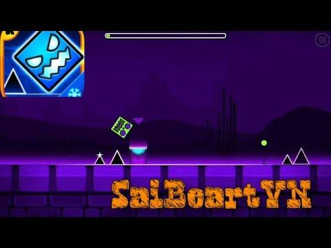 Gấu Sai tập chơi game [Geometry dash]