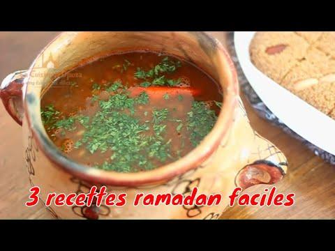 recettes-ramadan-2020,-trois-idées-pour-votre-table