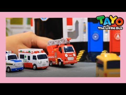 Tayo The New Emergency Center is Coming! l Tayo Toys Story l Tayo the Little Bus