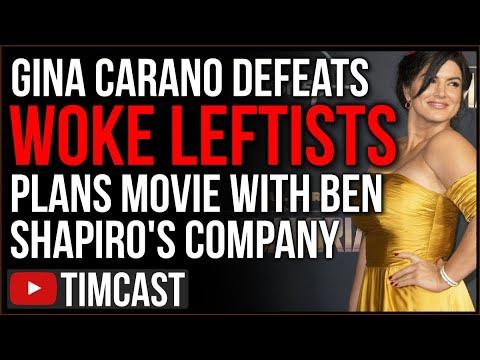 Gina Carano Announces She's Making a Movie With Ben Shapiro