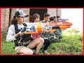 Nerf War: Navy Girl & Special Soldier Nerf Guns Bandits Group Rescue Girlfriend Nerf movie