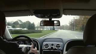 Presentation Bentley Flying Spur 2013.  Test Drive Bentley