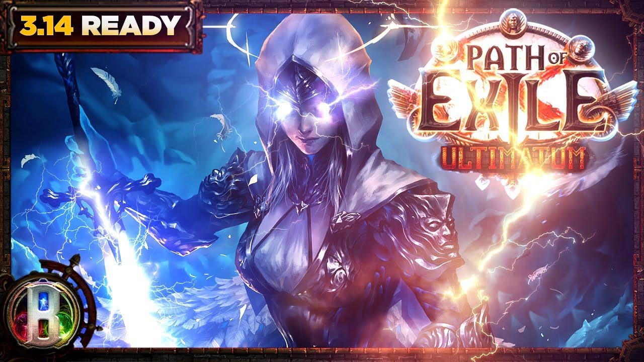 Download Path of Exile 3.14 - Lightning Wild Strike Build - Raider Ranger - PoE Ultimatum - PoE 3.14