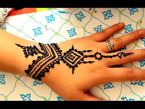 ᴴᴰ Simple Unique Arabic Henna Mehndi Stylist Mehendi Designs For