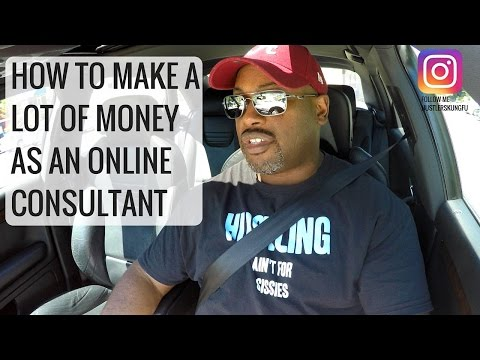 How To Make Money as an Online Consultant  ♛Mentor  ♛ Trainer ♛Teacher ♛
