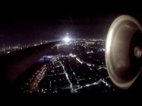 Far Eastern MD80 landing at Taipei Songshan as FE28