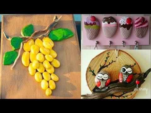 Stone Painting  Ideas | Best Pebble Art Ideas | DIY & Craft Ideas | Stone Art Design | FnF Creations